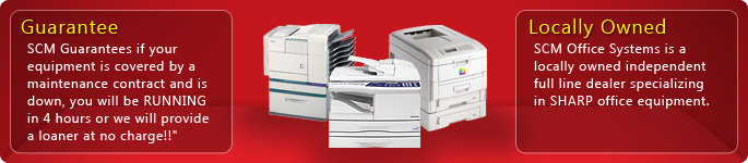 SCM Copiers, Facsimiles, Network Printers, and Office Equipment